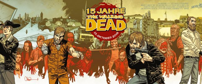 15 Jahre THE WALKING DEAD - AM 13. OKTOBER IST THE WALKING DEAD - TAG!