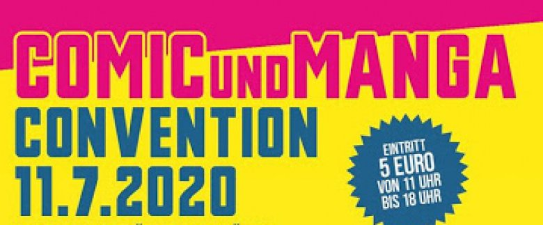 Comic- und Manga-Convention am 11. Juli 2020 in Wuppertal