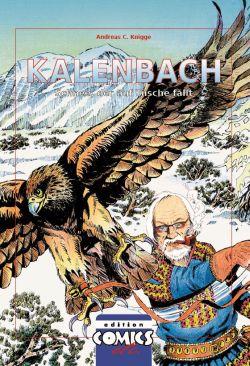 Dieter Kalenbach -Schnee, der auf Tusche fällt