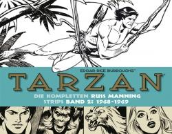 Tarzan: Die kompletten Russ Manning Strips Band 2