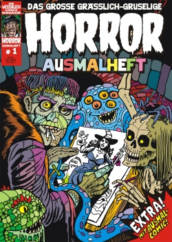 Horror Ausmalheft 1