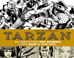 Tarzan: Die kompletten Russ Manning Strips Band 3