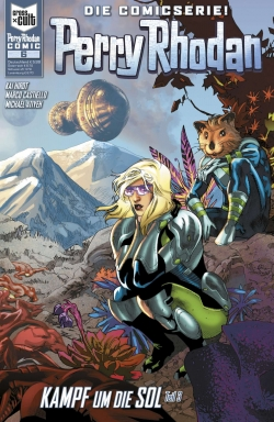Perry Rhodan Comic 6
