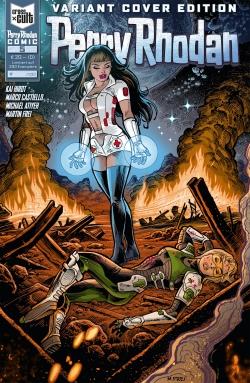 Perry Rhodan Comic 5 Variantcover VZA