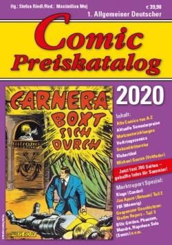 Comic Preiskatalog 2020 HC