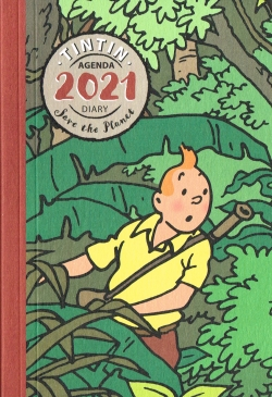 Tim & Struppi Agenda 2021 Klein
