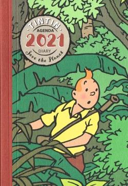 Tim & Struppi Agenda 2021 Groß