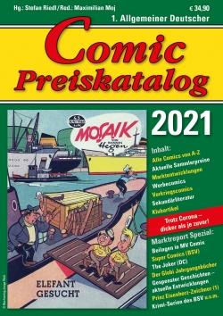 Comic Preiskatalog 2021 SC