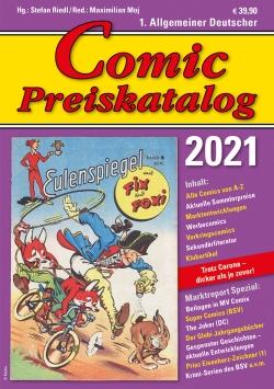 Comic Preiskatalog 2021 HC
