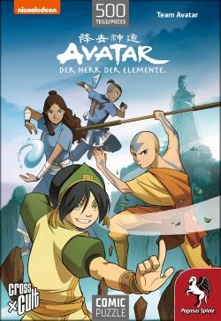 Puzzle - Avatar: Team Avatar