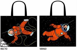 Tim und Struppi Tragetasche - Astronauten