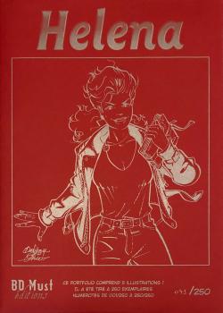 Helena Portfolio Red
