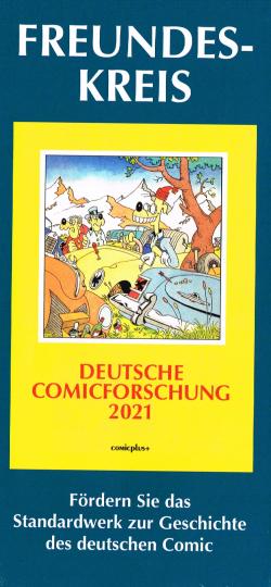 Comicplus - Flyer Freundeskreis