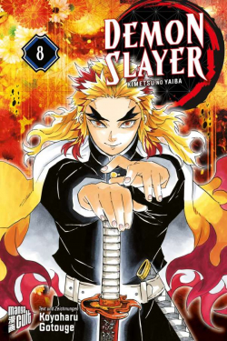 Demon Slayer 8 im Sammelschuber