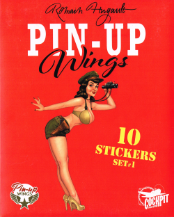 Pin-Up Wings Sticker Set 1