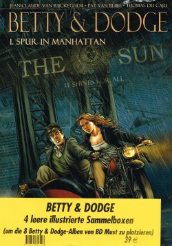 Betty & Dodge - 4 leere Sammelboxen