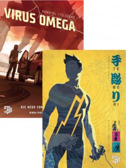 Cross Cult - Poster: Tebori/Virus Omega