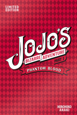 Jojo's Bizarre Adventure 1 Limited Edition