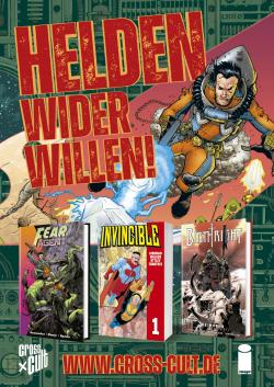 Cross Cult - Poster: Helden wieder Willen