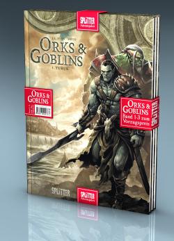 Adventspaket - Orks & Goblins: Band 1-3 zum Sonderpreis