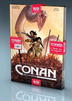 Adventspaket - Conan: Band 1-3 zum Sonderpreis