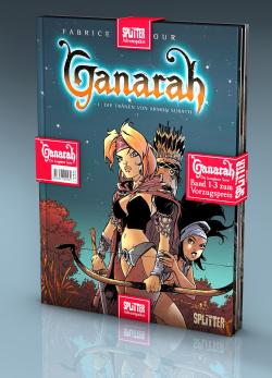 Adventspaket - Ganarah: Band 1-3 zum Sonderpreis