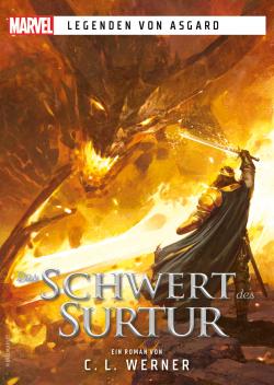 Cross Cult - Postkarte: Legenden von Asgard - Das Schwert des Surtur